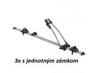 3ks Nosič bicyklov Thule FreeRide 532 (jednotný zámok)