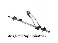 4ks Nosič bicyklov Thule FreeRide 532 (jednotný zámok)