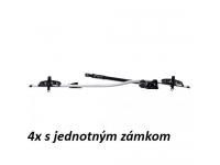 4ks Nosič bicyklov Thule ProRide 591 (jednotný zámok)