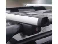 Strešný nosič Škoda Roomster - Diheng D2000 rel. 1200 hliníkový