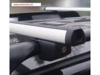 Strešný nosič Škoda Fabia III combi - Diheng D2000 rel. 1200 hliníkový